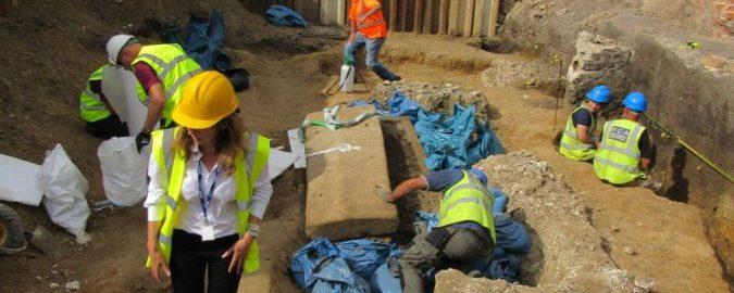 W Londynie odkryto rzymski sarkofag