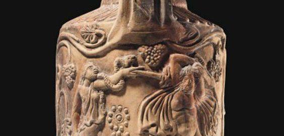 Rzymski dzbanuszek ceramiczny