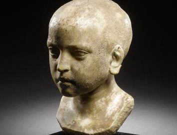 Rzymskie popiersie młodego chłopca