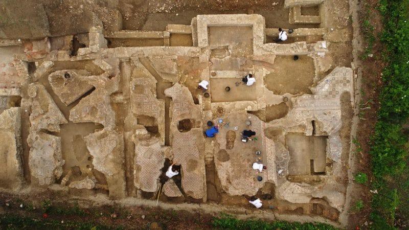 We Francji odkryto rzymski domus z mozaikami