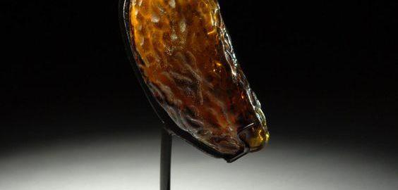 Rzymski szklany flakonik na perfumy