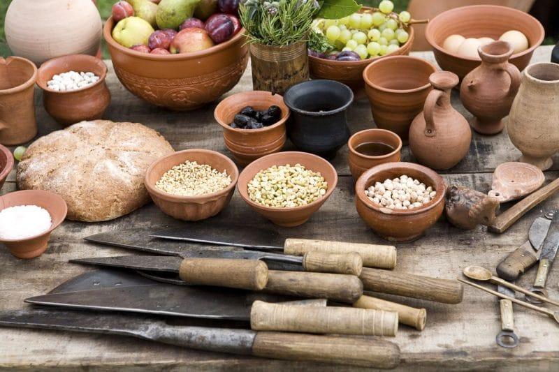 Rzymskie przybory kuchenne