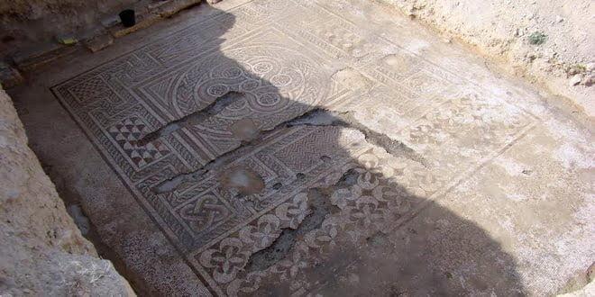 W Syrii natrafiono na rzymską mozaikę podłogową