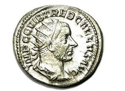 Moneta Trebonianusa Gallusa