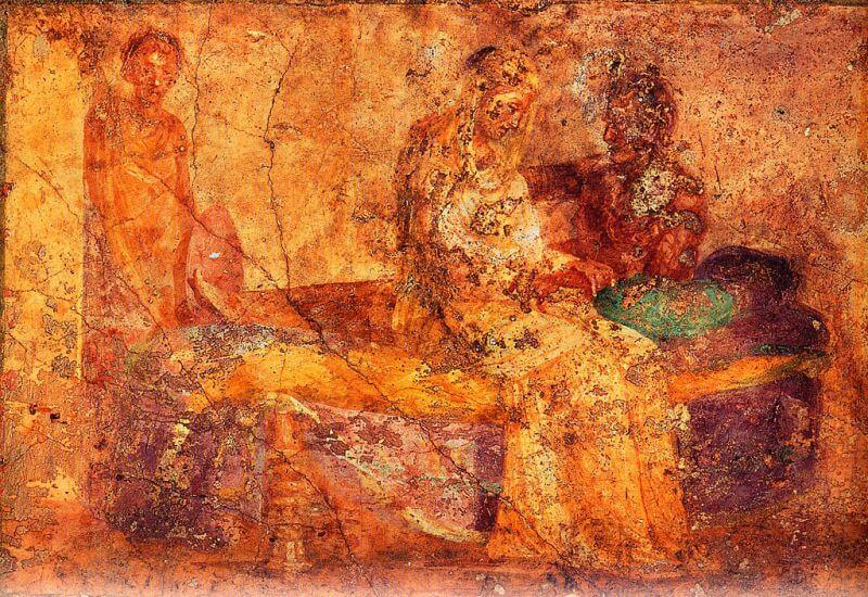 Fresk z około 19 roku p.n.e.