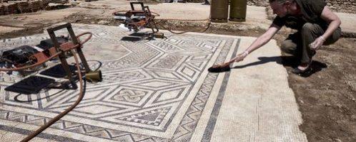 Archeolodzy odkrywają 'małe Pompeje' we Francji