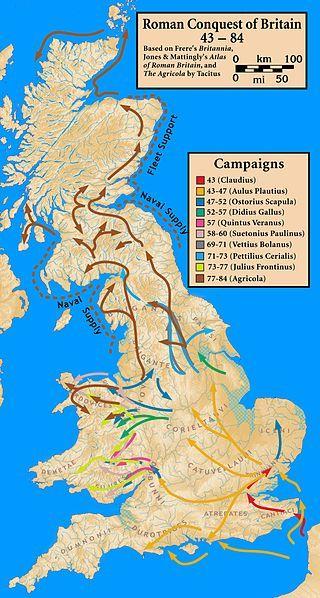 Podbój Brytanii w latach 43-84 n.e.