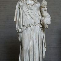 Wizualizacja bogini Pax z Plutosem