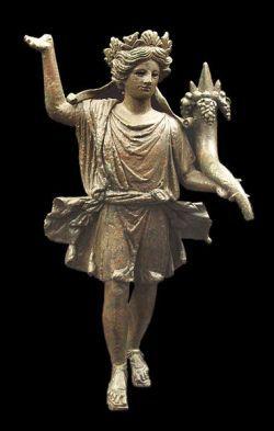Figurka Lar familiaris z I wieku n.e.