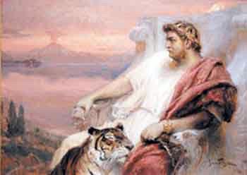 Neron na tronie