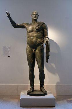 Posąg z brązu Treboniana Gallusa