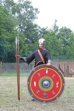 Żołnierz rzymski IV wieku n.e.