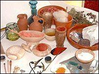 Rzymianie używali oliwę, szafran i terminy jak kosmetyki