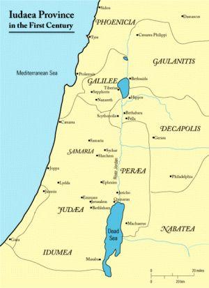 Prowincja Judea w I wieku n.e.