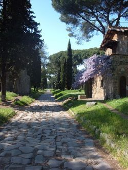 Remains of Via Appia