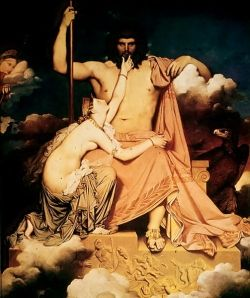 Iupiter and Thetis