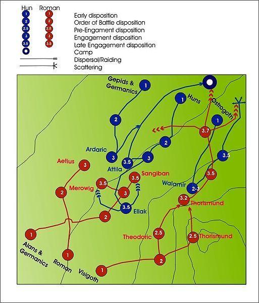 Pole bitwy na Polach Katalaunijskich