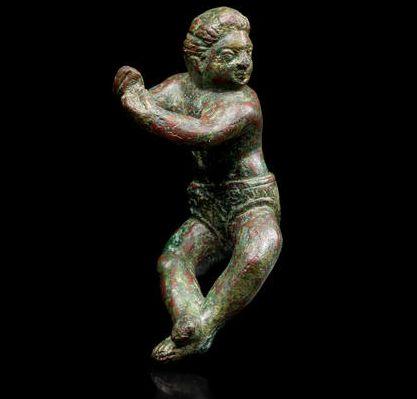Rzymski posążek ukazujący akrobatę