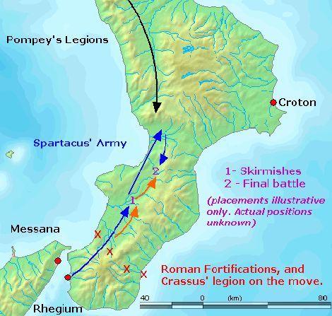 Marsz Spartakusa na południe
