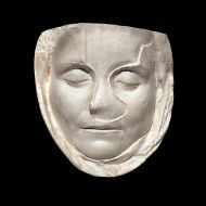 Maska pośmiertna dziewczyny z rzymskiej Galii