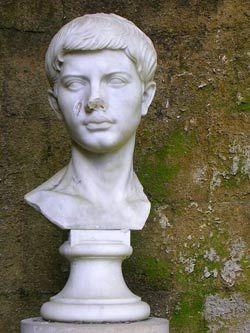 Popiersie Wergiliusza w Neapolu