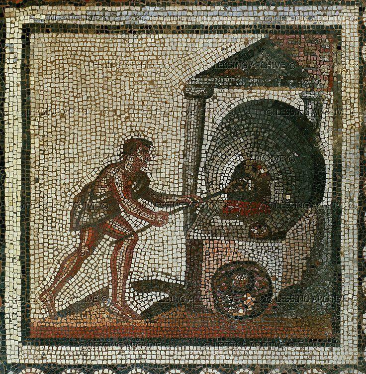 Darmowy chleb był często sposobem na pozyskanie biednych mas przez wpływowych polityków rzymskich