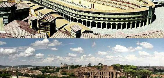 Circus Maximus now and then