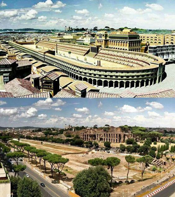 Circus Maximus teraz i kiedyś