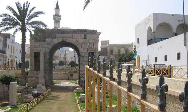 Łuk Marka Aureliusza w Trypolisie