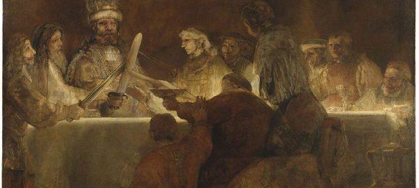 Spisek Klaudiusza Civilisa, Rembrandt