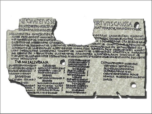 Tablica nadająca prawa obywatelskie