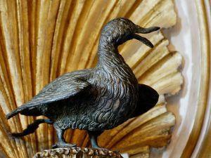 Bronze goose at the Capitoline Museum