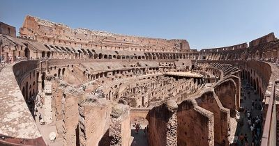 Colloseum from the inside