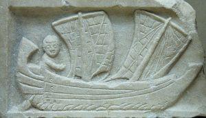 Small Romans merchant ship