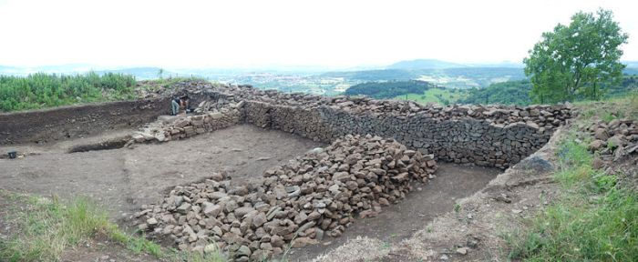 Mury oppidum Gergowii