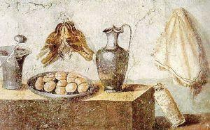 Malowidło ścienne z domu Julii Felix, w Pompejach