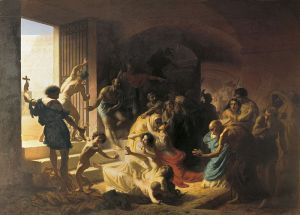 Chrześcijańscy męczennicy w Koloseum, Konstantin Flavitsky