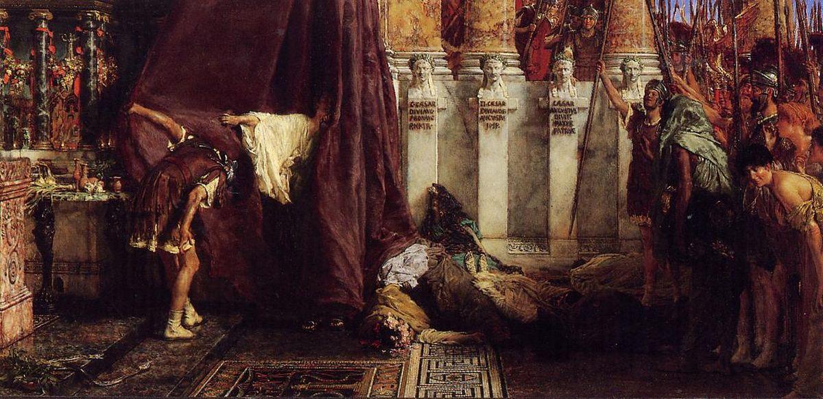 Ave, Caesar! Io, Saturnalia!, Lawrence Alma-Tadema