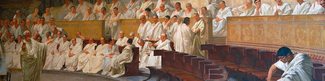 Cesare Maccari, Cicero Denounces Catiline