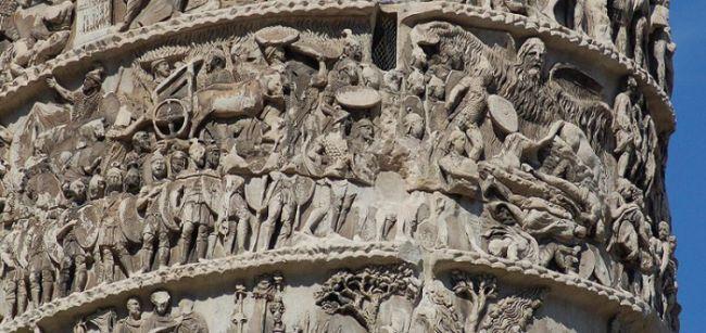Cud deszczowy na kolumnie Aureliusza