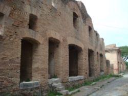 Pozostałości insuli w Ostii