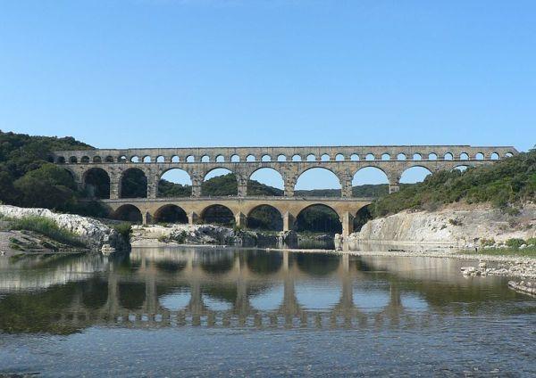 Akwedukt Pont Gard