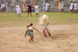 Reconstruction of the fight - Retiarius vs. Secutor