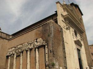 Kolumny świątyni Spes