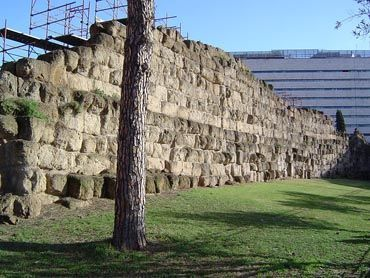 Fragment of the Servisius Wall
