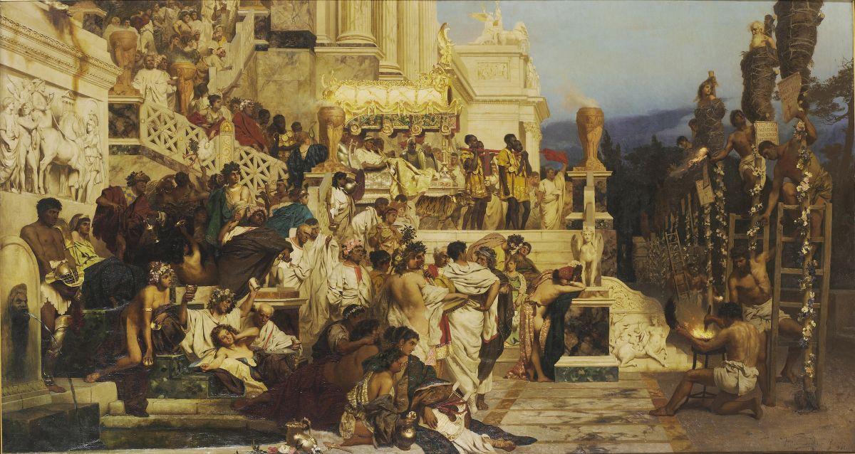 Pochodnie Nerona, Henryk Siemiradzki