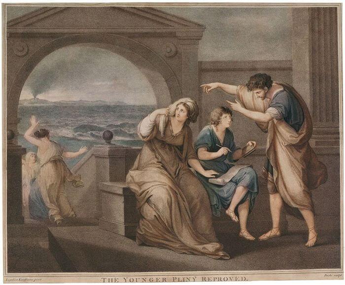 Napomniany Pliniusz Młodszy, Thomas Burke