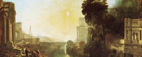 Dido rises Carthage, William Turner