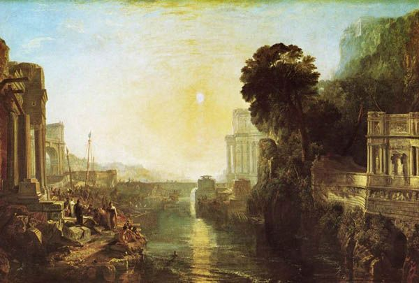 Dydona wznosi Kartaginę, William Turner