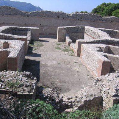 Ruiny Villa Jovis na wyspie Capri
